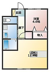 土山駅 5.4万円