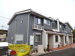 東京都八王子市大和田町1丁目の賃貸アパートの外観