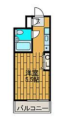 アビーダシオン町田[2階]の間取り