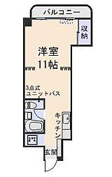 東カングランドマンション八戸[608号室]の間取り