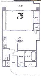 ニュー白金マンション[2階]の間取り