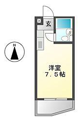 愛知県名古屋市南区豊田3丁目の賃貸マンションの間取り