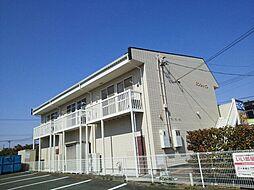 静岡県浜松市中区細島町の賃貸アパートの外観