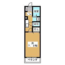 AIKI[1階]の間取り
