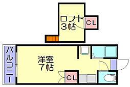 ステラコンシオン26[1階]の間取り