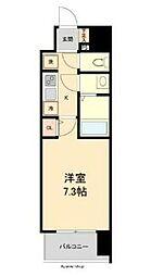 仙台市営南北線 広瀬通駅 徒歩4分の賃貸マンション 1階1Kの間取り