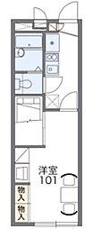 レオパレスWAON[1階]の間取り