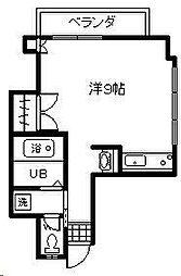 リバティハウス2[205号室]の間取り