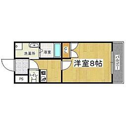 フェニックス東大阪II[5階]の間取り