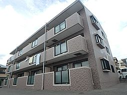 大阪府高槻市城南町2丁目の賃貸マンションの外観