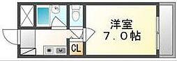 香川県高松市春日町の賃貸マンションの間取り