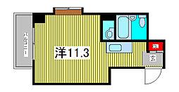 ハイムフローラ西川口[2階]の間取り