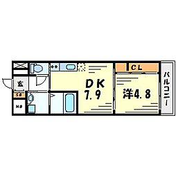 エル・セレーノ武庫之荘[4階]の間取り
