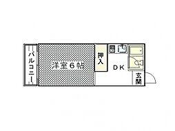 天神ノ森駅 3.4万円