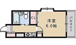三明ハイツ[605号室]の間取り