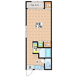 オーナーズマンション南巽[404号室]の間取り
