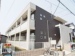 埼玉県越谷市赤山町3丁目の賃貸マンションの外観