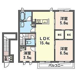 仮)練馬区南田中1丁目シャーメゾン[2階]の間取り