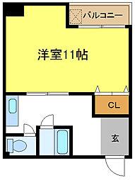 ハイツライズワン[5階]の間取り