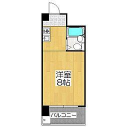 コートハウス88[106号室]の間取り