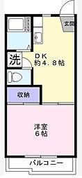 ベルナハイツII[2階]の間取り