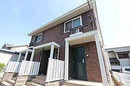 愛知県名古屋市名東区香流1丁目の賃貸アパートの外観