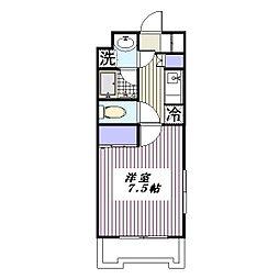 埼玉県さいたま市浦和区岸町4丁目の賃貸マンションの間取り