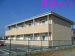 三重県多気郡明和町大字上村の賃貸アパートの外観