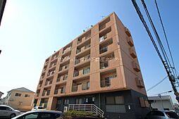 岡山県岡山市南区松浜町の賃貸マンションの外観