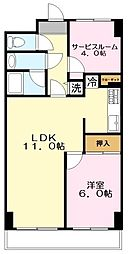 神奈川県川崎市麻生区細山1丁目の賃貸マンションの外観