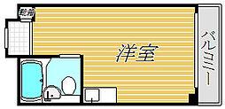 東京都渋谷区本町3丁目の賃貸マンションの間取り