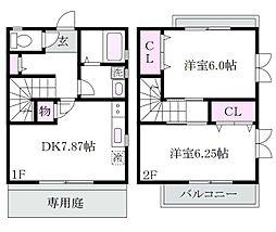 [タウンハウス] 東京都杉並区上井草2丁目 の賃貸【/】の間取り