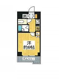 東京都狛江市和泉本町1丁目の賃貸マンションの間取り