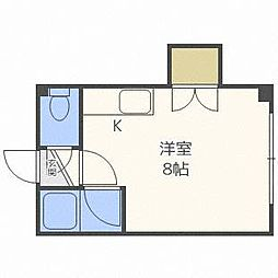 ノースグラントハイツ[2階]の間取り