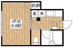 宮崎ハイム[2階]の間取り