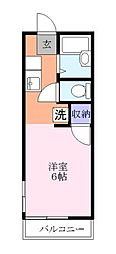 ファミーユ後藤[2階]の間取り