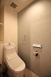 スッキリとしたトイレ(新品)