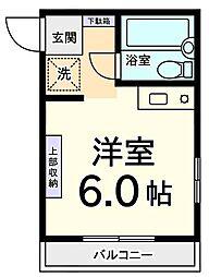 コーポG[2階]の間取り