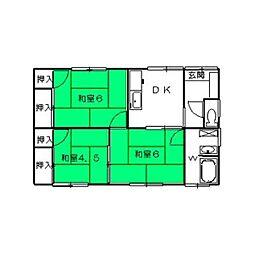 [一戸建] 埼玉県深谷市上野台 の賃貸【/】の間取り