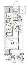 横浜市営地下鉄ブルーライン 阪東橋駅 徒歩3分の賃貸マンション 3階1Kの間取り