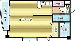 ディア・コート守恒[4階]の間取り