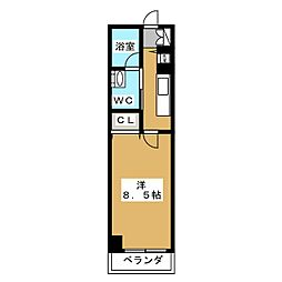 SHICATA ONZE BLDG[6階]の間取り