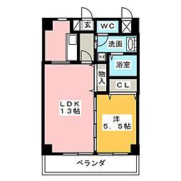MG・名佳苑[1階]の間取り