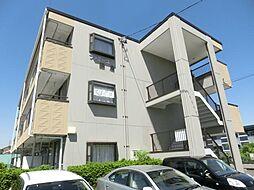 長野県松本市両島の賃貸マンションの外観