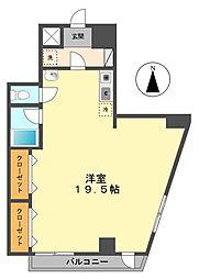 東京都江戸川区西小岩3丁目の賃貸マンションの間取り