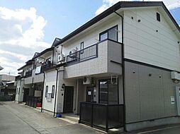 岩手県盛岡市三本柳の賃貸アパートの外観