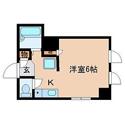 静岡県静岡市清水区相生町の賃貸マンションの間取り