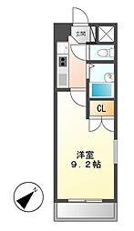 シティライフ田代[1階]の間取り