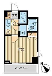 アーデン駒沢大学[6階]の間取り