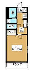 クレスト大倉山[102号室]の間取り